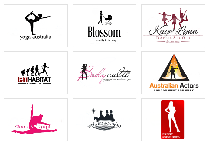 Custom Silhouette Logo Designs