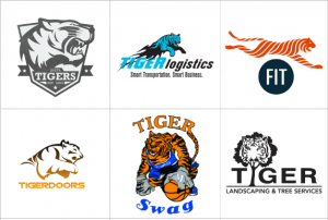 Custom Tiger Logo Design