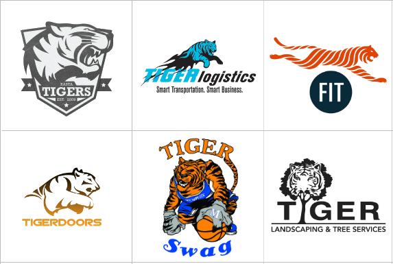 Custom Tiger Logo Design