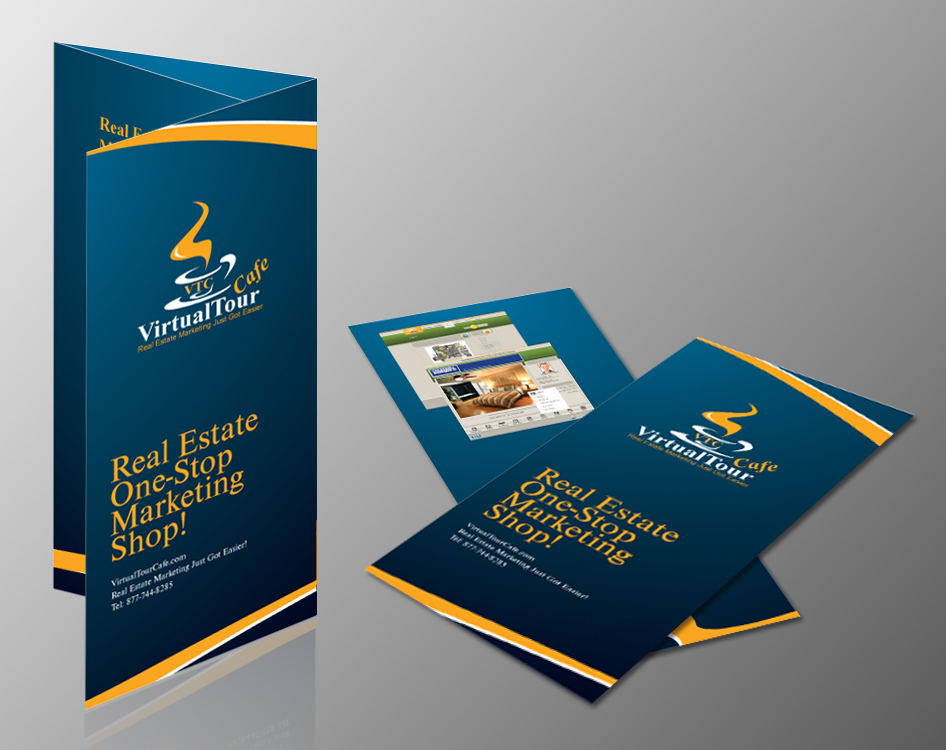 Custom Tri fold brochure design