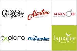 Custom Typography Logo Design