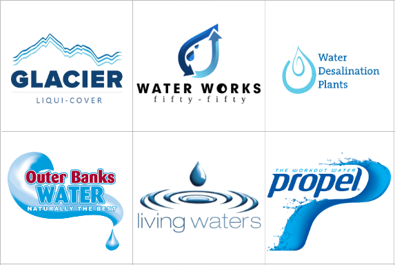 Custom Water Logo Design