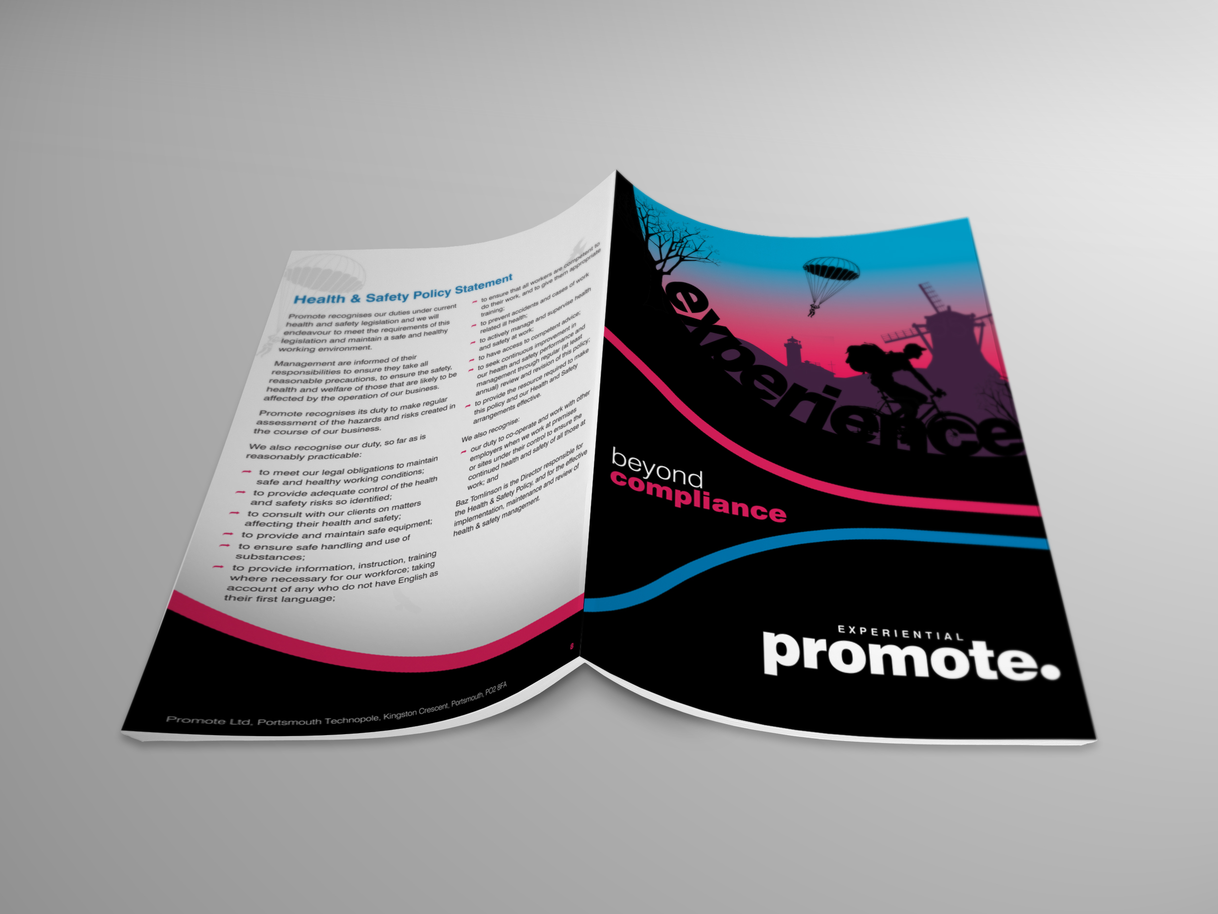 Double Side Brochure Design