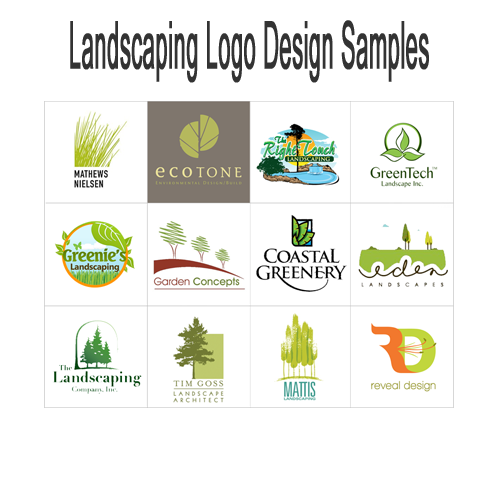 Landscaping Logos Design Gallery