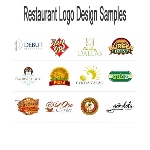 Restaurant Logos Design Gallery