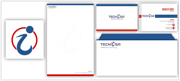 Technisa Logo Stationery Designs